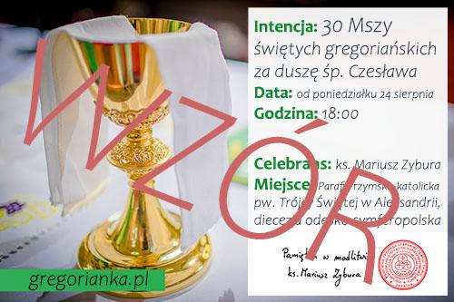Msze gregoriańskie - jak zamawiać?